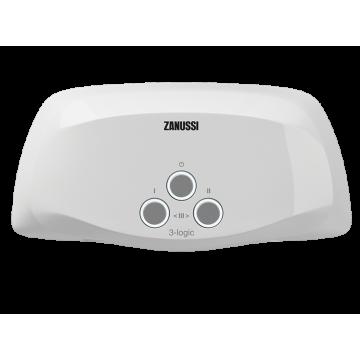 Водонагреватель проточный электрический 3-logic TS (5,5 kW) - душ + кран Zanussi НС-1064836