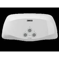 Водонагреватель проточный электрический 3-logic TS (6,5 kW) - душ + кран Zanussi