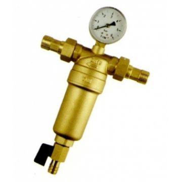 Фильтр для горячей воды с манометром 1/2 JH151 Металл VIEIR JH151