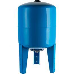 Расширительный бак, гидроаккумулятор 300л синий вертикальный Stout