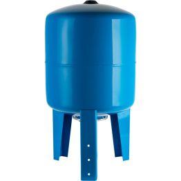 Расширительный бак, гидроаккумулятор 500л синий вертикальный Stout