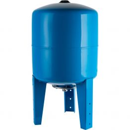 Расширительный бак, гидроаккумулятор 750л синий вертикальный Stout