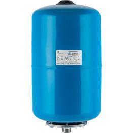 Расширительный бак, гидроаккумулятор 20л синий горизонтальный Stout
