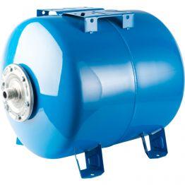 Расширительный бак, гидроаккумулятор 200л синий горизонтальный Stout