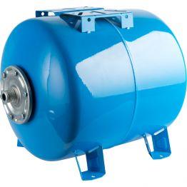 Расширительный бак, гидроаккумулятор 300л синий горизонтальный Stout
