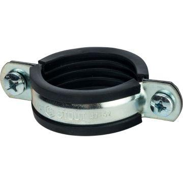 Хомут для труб с гайкой ø1 1/2 (47-52) Stout SAC-0020-000112