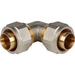 Угольник 90° ø32 винтовой Stout SFS-0003-003232
