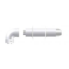Комплект коаксиальный антилед ø60/100 KIT08A (ARISTON-BAXI-CHAFFOTEAUX-PROTHERV-VAILLANT-VIESSMANN)