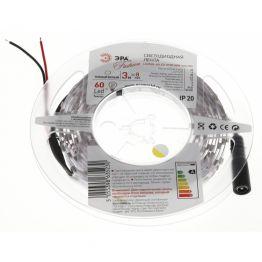 Лента светодиодная ЭРА LS3528-60LED-IP20-WW-eco-3m Б0002324