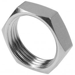 """Контргайка 3/8"""" никель Stout (10/700)"""