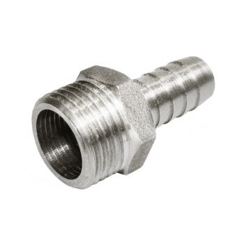 Штуцер НР никель 3/8*10 Stout SFT-0067-003810