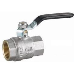 "Кран шаровой 2"" F/F VR200-06 ручка никель ViEiR"