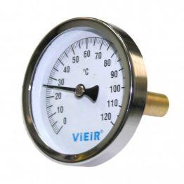 "Термометр с гильзой 1/2"" до120°С YL18 ViEiR"