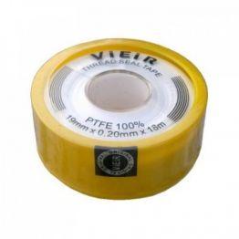 Фум лента желтая 12м 11*0,75мм VR8099 ViEiR