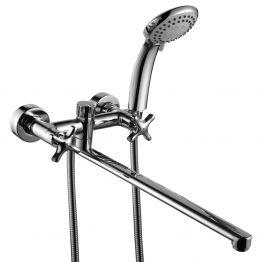 Смеситель Rossinka RS39-84 для ванны универсальный