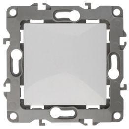 ЭРА Переключатель 10АХ-250В IP20, Эра12, белый 12-1103-01