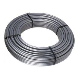 Труба стабильная PE-Xc/Al/PE-Xc 20х2,9 STOUT, серая (бухта 100м)