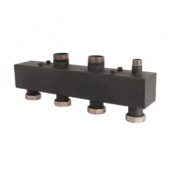 Коллектор стальной распределительный (до 85 кВт) 2 контура Rommer