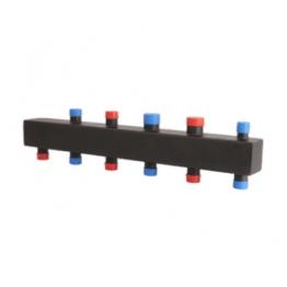 Коллектор стальной распределительный (до 85 кВт) 3 (4) контура Rommer