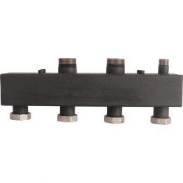 Коллектор стальной распределительный (до 85 кВт) 5 контуров Rommer