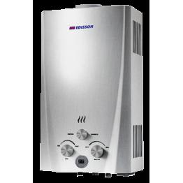 Водонагреватель газовый проточный Flame F 20 D (silver) Edisson
