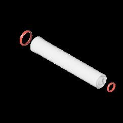 Удлинитель дымохода коакс. раструб. ø60/100 L-1000 KRATS
