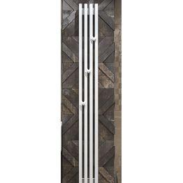 """Радиатор стальной трубчатый """"Grey VE"""" 1250 вертикальный, электрический Loten"""