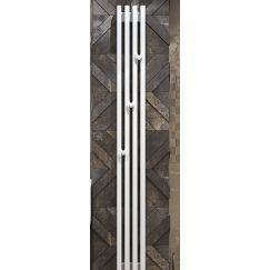 """Радиатор стальной трубчатый """"Grey VE"""" 1750 вертикальный, электрический Loten"""