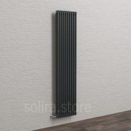 Дизайн-радиатор стальной трехтрубный SOLIRA