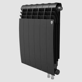 Радиатор биметаллический Royal Thermo BiLiner Noir Sable VDR 500 10 секций