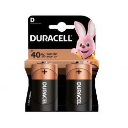 Батарейка щелочная D LR20-2BL NEW 81545439 блистер, в упаковке 2шт. Duracell
