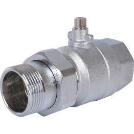 Клапан зональный 2-ходовой шаровой НВ 1 1/4*1 1/4 STOUT