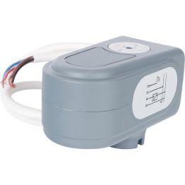 Сервопривод для шаровых зональных клапанов, ход 90°, кабель 1м, 40 сек, 230V, 4 полюса STOUT