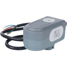 Сервопривод для шаровых зональных клапанов, ход 90°, кабель 1м, 40 сек, 230V, 5 полюсов STOUT