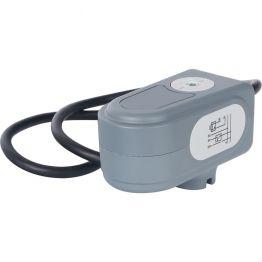 Сервопривод для шаровых зональных клапанов, ход 90°, кабель 1м, 40 сек, 24V, 5 полюсов STOUT