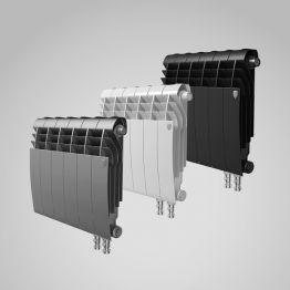 Радиатор биметаллический Royal Thermo BiLiner Silver Satin VDR 350 8 секций