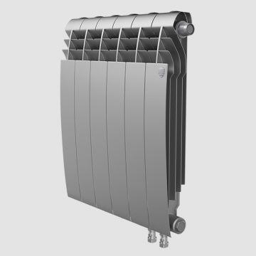 Радиатор биметаллический Royal Thermo BiLiner Silver Satin VDR 500 4 секции