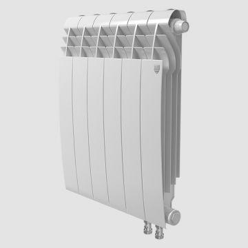 Радиатор биметаллический Royal Thermo BiLiner Bianco Traffico VDR 500 6 секций
