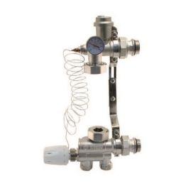 Насосно-смесительный узел для отопления (без насоса) латунь ТАЭН