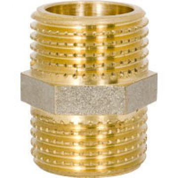 Ниппель НН 1 х 1 для стальных труб резьбовой NTM 552G1/01/0