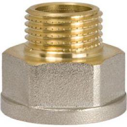 Переходник НВ 3/4 х 1/2 для стальных труб резьбовой NTM