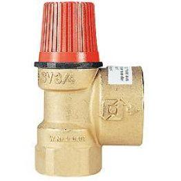 Клапан предохранительный SVH 30 х 1 для систем отопления 3 бар Watts