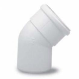 Отвод 45* DN 60/100 белый Vaillant