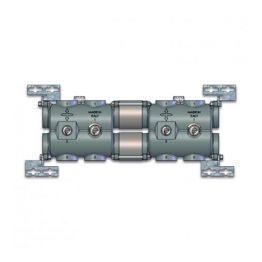 Коллектор модульный с соединениями для групп G1 1/4 в изоляции CD 1210