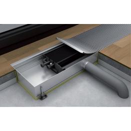 Конвектор встраиваемый в пол без вентилятора KС.125.403 Eva