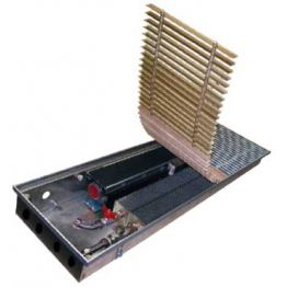 Конвектор встраиваемый в пол с вентилятором КВ.90.258 Eva