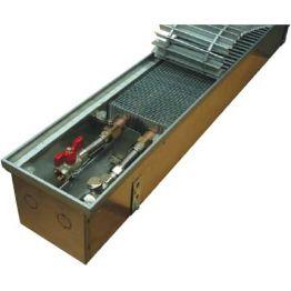 Конвектор встраиваемый в пол с вентилятором КВ.125.165 Eva