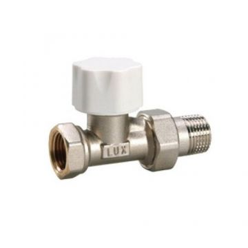 Вентиль термостатический под термоголовку линейный для пластиковых труб ThermoTekna RD 211 1/2 Luxor 12322100