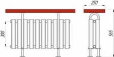 Размеры радиаторов KZTO